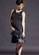 Beprina Black Evening Dress