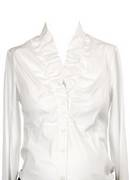 Attesa White  Maternity Shirt