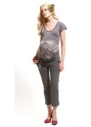 Maternity Cropped Trousers