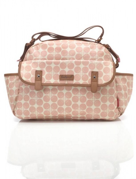 Babymel Molly in Pink changing bag