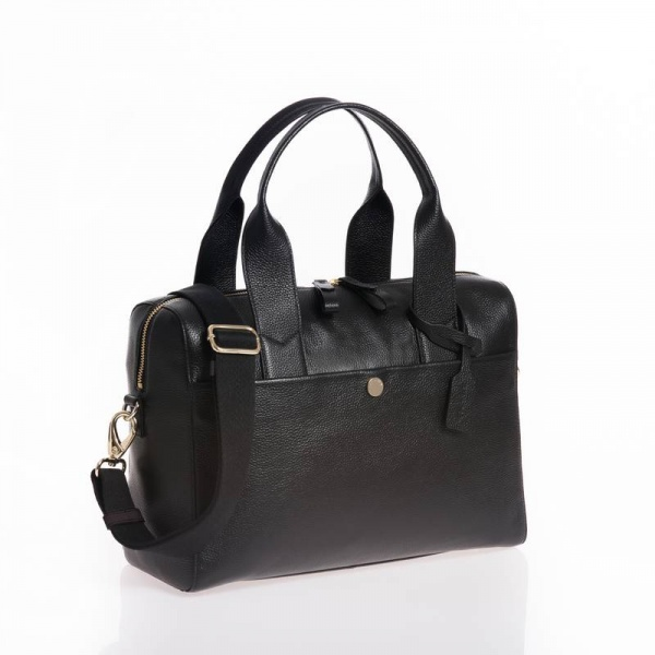 Jem + Bea Amber  changing bag in Black