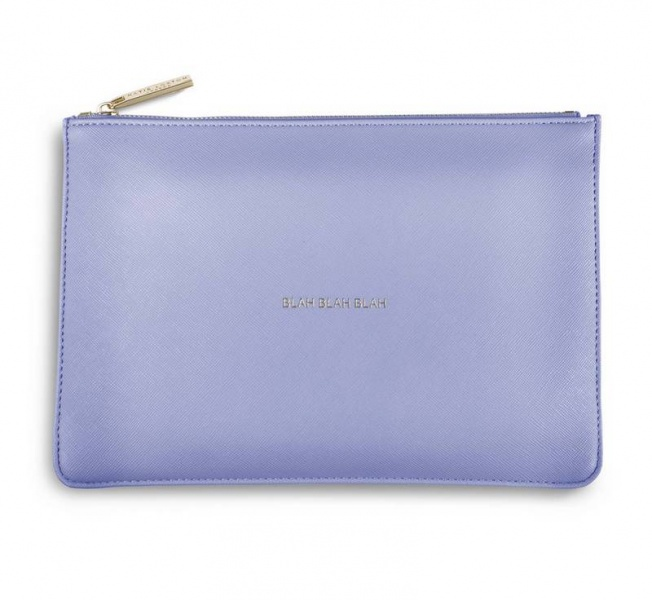 Katie Loxton Perfect Pouch in Cornflower Blue