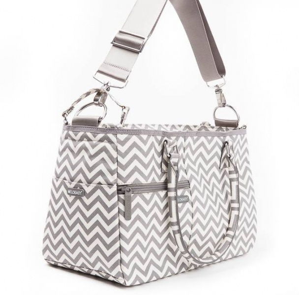 Melotote in Chevron Changing bag