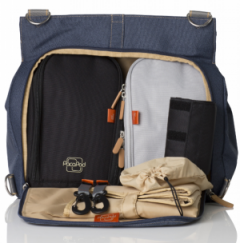 PacaPod Oban Changing Bag in Denim