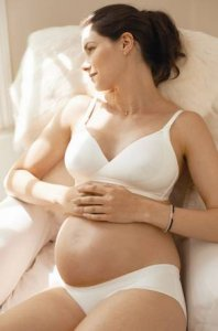 Amoralia Second Skin  Nursing Bra Ivory