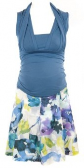 Maternity Top in Blue
