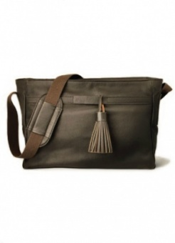 Tan & Teal Pimlico Espresso changing bag