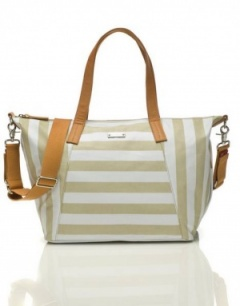 Storksak Noa Changing bag in Striped Fawn