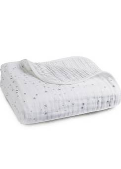 Aden + Anais Silver Metallic Dream Blanket
