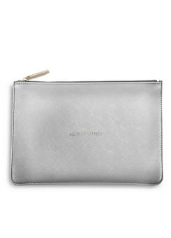 Katie Loxton Perfect Pouch in Silver