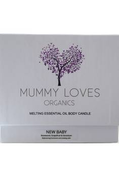 Mummy Loves New Baby Candle