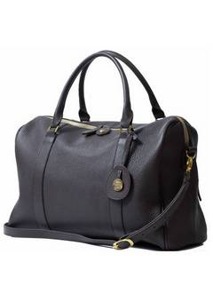 PacaPod Firenze Leather Changing Bag in Chocolate
