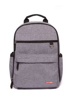 Skip Hop Duo Backpack in Heather Grey