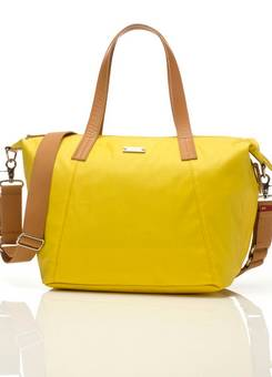 Storksak Noa Changing bag in yellow