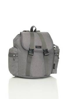 Storksak Back pack in Black and Grey