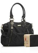 Storksak Olivia Black Changing Bag