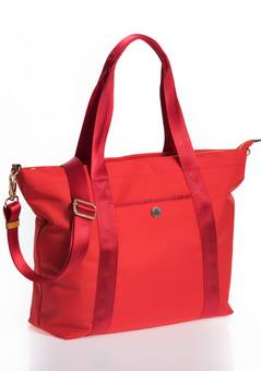 Jem + Bea Lola changing bag in Red
