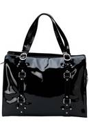 OiOi  Jet Patent  Leather tote