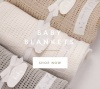 Katie Loxton Bundle of Joy Cotton Blanket