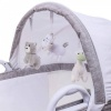 Purflo Breathable Bassinet in Grey