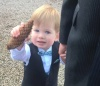 How to successfully take toddlers to a wedding
