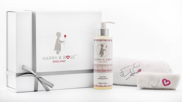 Harry and Rose Baby Bath Gift Set