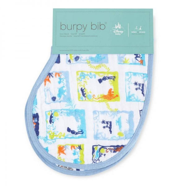 Aden + Anais Disney Jungle Book Burpy Bibs