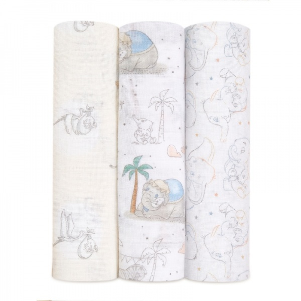 aden + anais Disney Baby My Darling Dumbo Swaddles