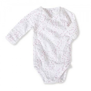 aden + anais long sleeved kimono mini hearts
