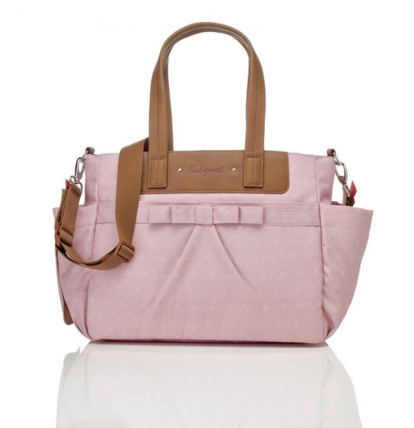 Babymel Cara Bloom  Changing bag in Pink