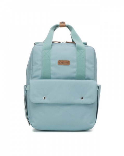 Babymel Georgi Eco Backpack changing bag Aqua