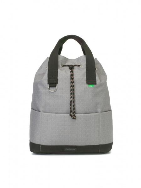 Babymel Grey top and tail backpack changing bag