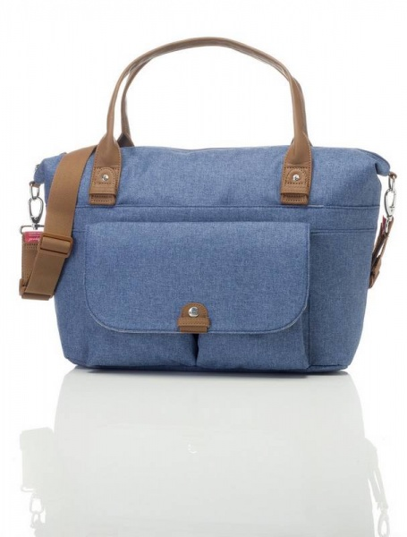 Babymel Jade Changing Bag in  Mid-Blue