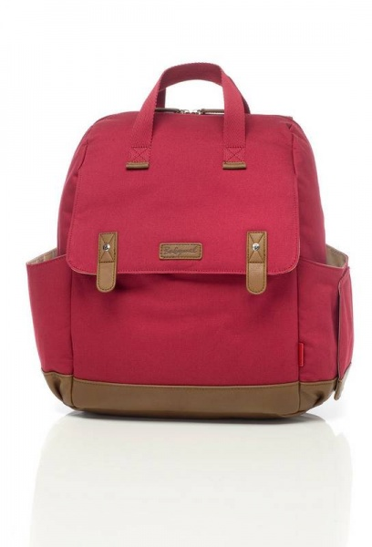 Babymel Robyn  Red Backpack changing bag