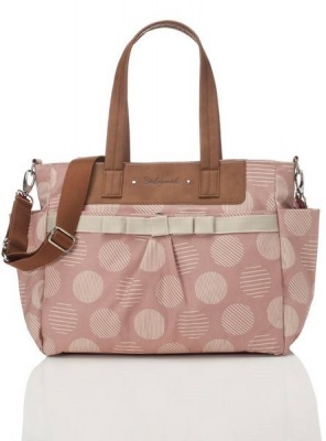Babymel Cara Retro Changing bag in Oyster