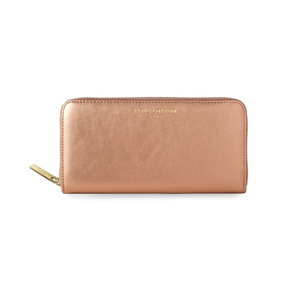 Katie Loxton Alexa Metallic Purse and  Bonus Card Holder