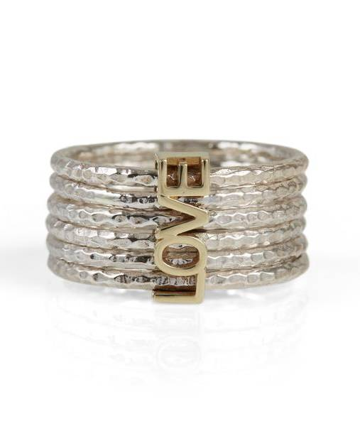 Charlotte's Web Love in a Spin stacking ring