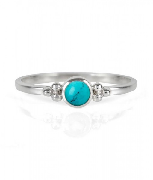 Charlotte's Web Jewellery Turquoise Holi stacking ring