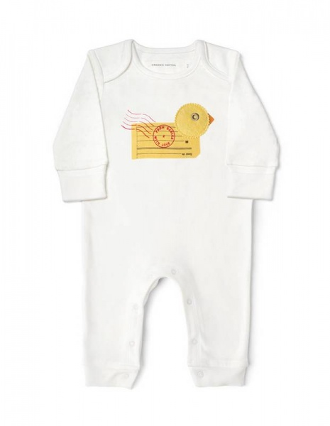From Babies with Love Duck Babygrow