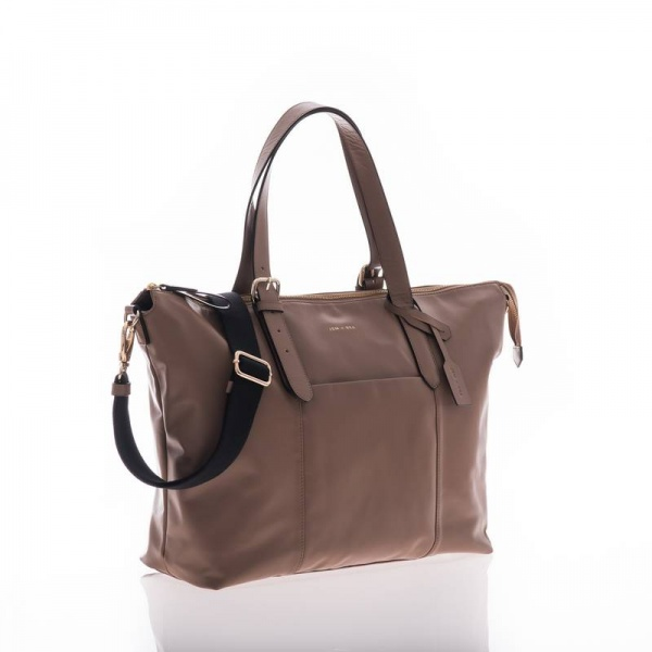 Jem + Bea Beatrice changing bag in Taupe
