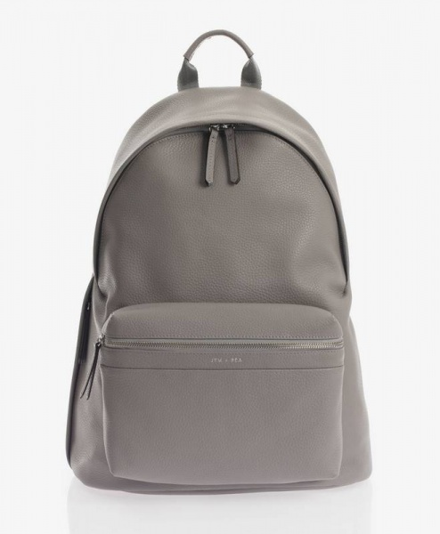 Jem + Bea Jamie backpack Grey Leather