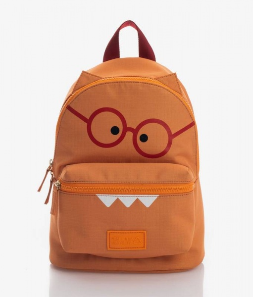 Jem + Bea Kids Eco Backpack Orange