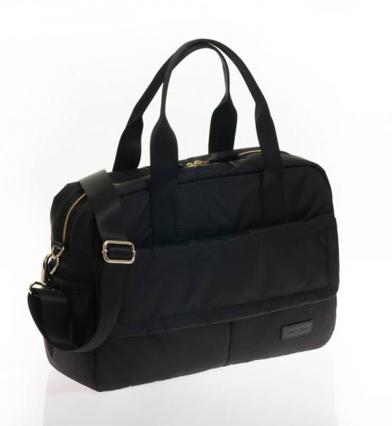 Jem + Bea Marlow Duffle Black changing bag