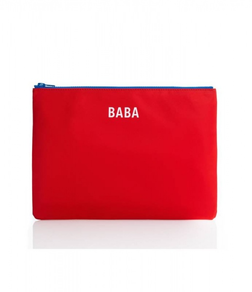 Jem and Bea Baba Pouch Red