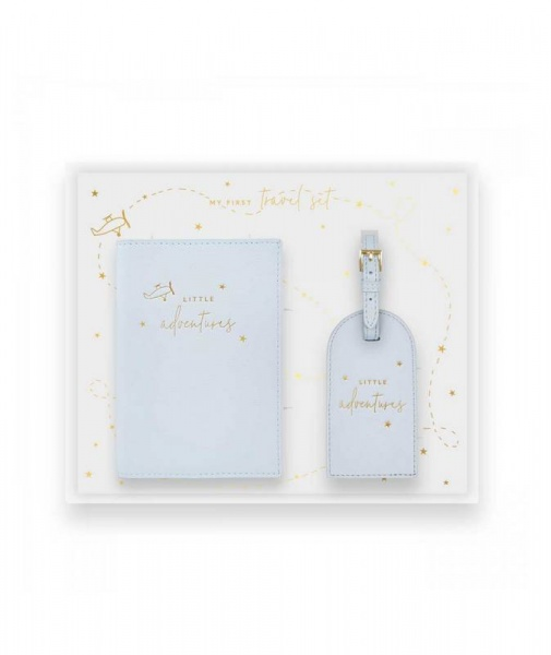 Katie Loxton Baby Travel Set  Blue