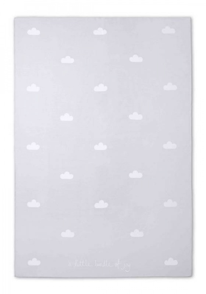 Katie Loxton Baby Blanket in Grey