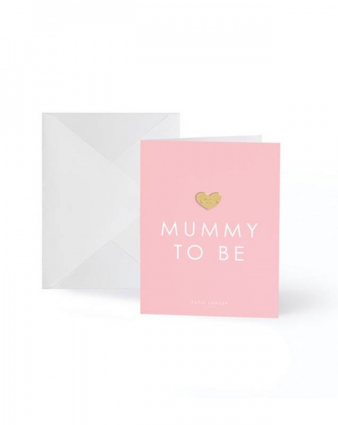 Katie Loxton Mummy to Be Gold badge card
