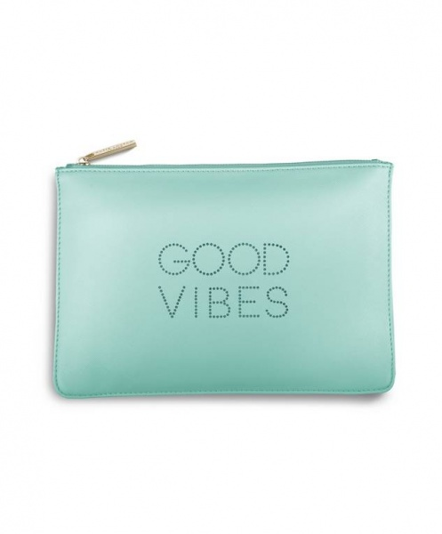 Katie Loxton Polka Dot  Pouch Good Vibes