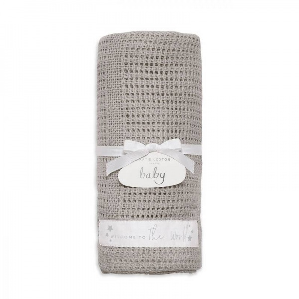 Katie Loxton Welcome to the World Cotton Blanket
