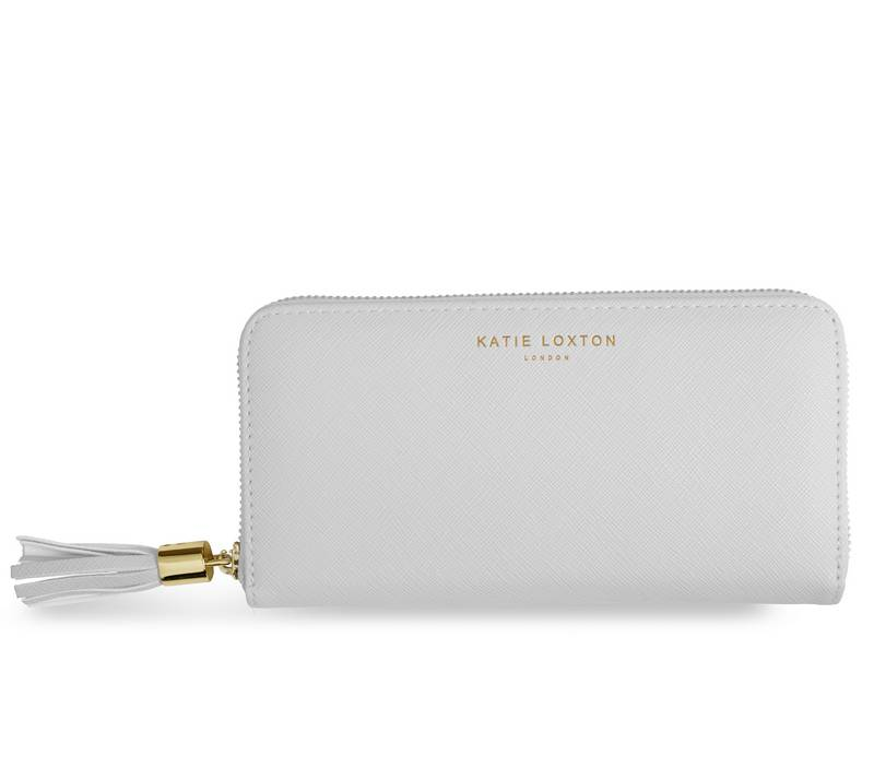 Katie Loxton Grey Tassel Purse